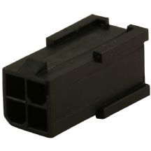 Black 4 Pin Male ATX/EPS Power Connector Socket With Crimps